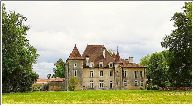 Château édifié au XVIe siècle par Jacques de Foix-Candale, baron de Doazit