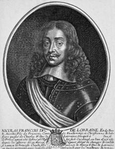 Gravure des années 1650 de Pierre Daret, reproduction Norbert Po