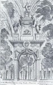 feu d'artifice chambery - Charles Emanuel II