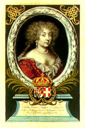 Portrait de Marie Jeanne Baptiste de Savoie-Nemours - La dernière Nemours