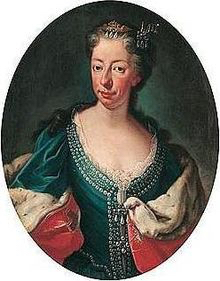 Portrait d'Anne-Marie d'Orléans dernière Duchesse et première Reine.