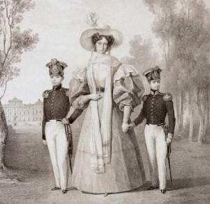 153. la reine vers 1840