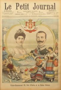160 Reine Helene et Victor Emmanuel III