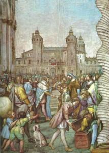 BLANCHE DE MONTFERRAT revevant Charles VIII de France - 1