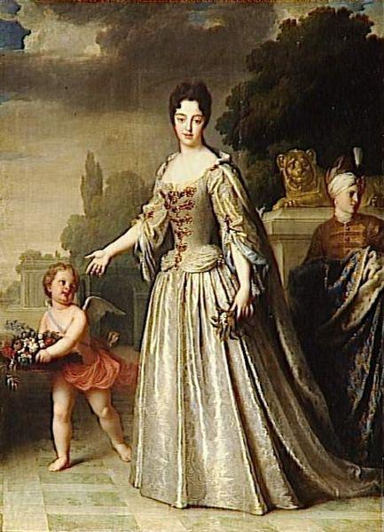 136 duchesse de bourgogne Maria Adelaide von Savoy