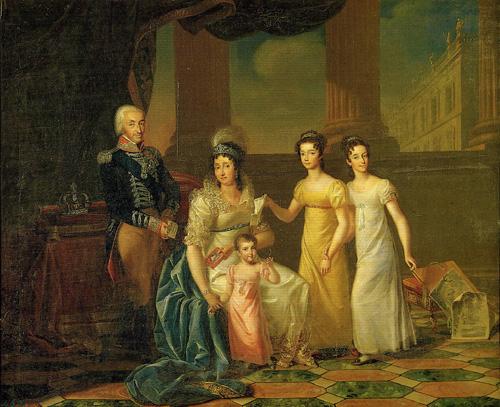 147  Marie Thérèse et ses filles