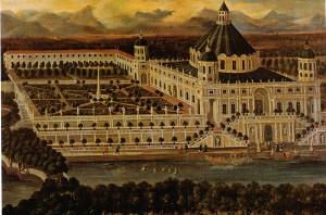 Les princes baroques entendent concilier la splendeur des jardins et les beautés architecturales. Le Parc Royal (XVII° s.) sera détruit par Louis XIV.