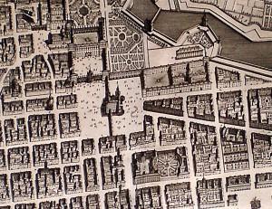 Intégré dans les Etats de Savoie depuis le XIV° s., Turin devenu capitale deux siècles plus tard est centré sur le palais du Souverain sur la cathédrale voisine et sur la place centrale tout autour du palais de Marie-Jeanne Baptiste.