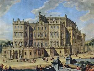 10) Château de Rivoli entre le Mont Cenis et Turin. Un orgueil pour Victor Amédée II épargné de justesse par Louis XIV.