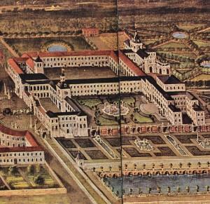 8) Palais de la Venaria Reale dans les environs de Turin pour la satisfaction des chasses ducales dès le reigne de Charles Emanuel II. Inspirant les besoins et l'orgueil des autres souverains de la période.