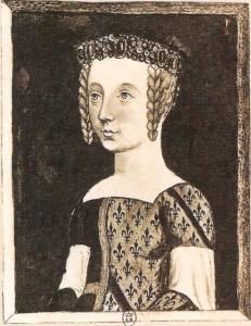 Bonne de Bourbon épouse en 1355 d'Amedée VI de Savoie.
