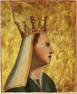Charlotte de Bourbon (1388-1422), reine de Chypre, épouse du roi Janus de Lusignan, mère de six enfants dont la duchesse Anne