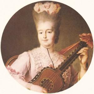 Clotilde de France (dite la grosse bourbon), soeur du Roi Louis XVI et épouse de Charles Emanuel IV