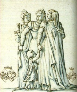 Les épouses de Humbert III