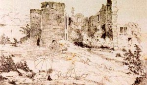 2) Château de Thomas II (XIII° s.), entre la Leysse et le lac du Bourget, le charme de l'eau.