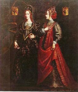 Gertrude de Lorraine et Mathilde d'Albon